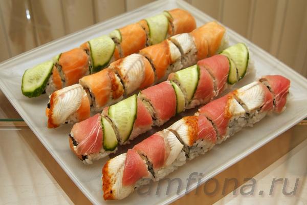 Как приготовить суши филадельфия в домашних условиях рецепты 17