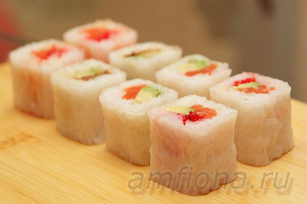Сладкие роллы из рисовой бумаги рецепт пошагово
