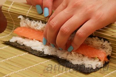Как самому приготовить суши