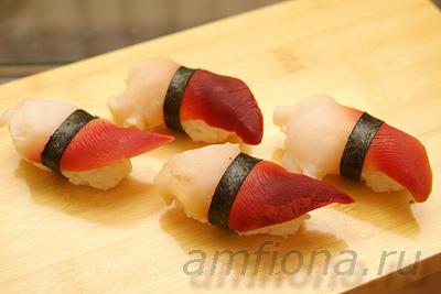 нигири суши с омлетом рецепт