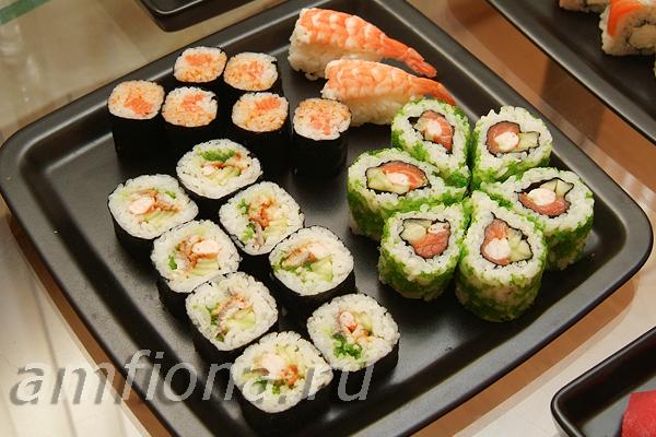 Домашние суши и роллы (8 фото) Суши-блог