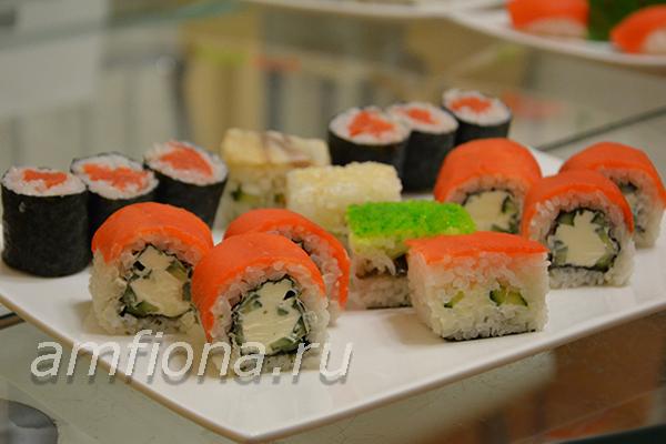 как приготовить суши несколько видов